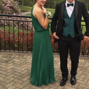 Emerald Green 'Grecian Goddess' Dress